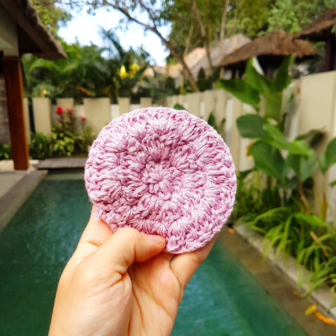 Cotton Face Scrub Pad