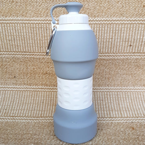 Silicone Collapsible Water Bottle (580ml)