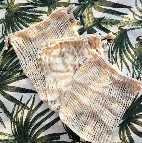 Laundry Bag for Reusable Cotton Pads