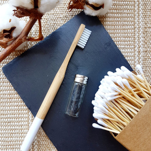[Bundle] Bamboo Toothbrush, Dental Floss & Bamboo Cotton Buds (Save 15%!)