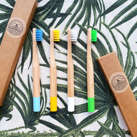 Kids Bamboo Toothbrush (Soft Bristles)