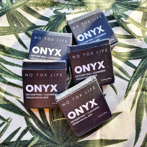 No Tox Life Charcoal Facial Cleansing Bar (ONYX)