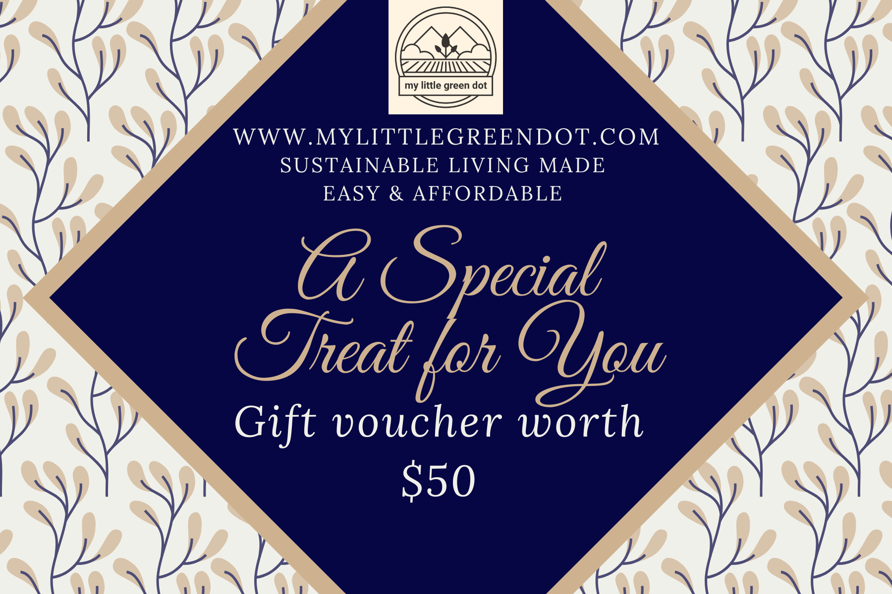 Gift Voucher worth $50