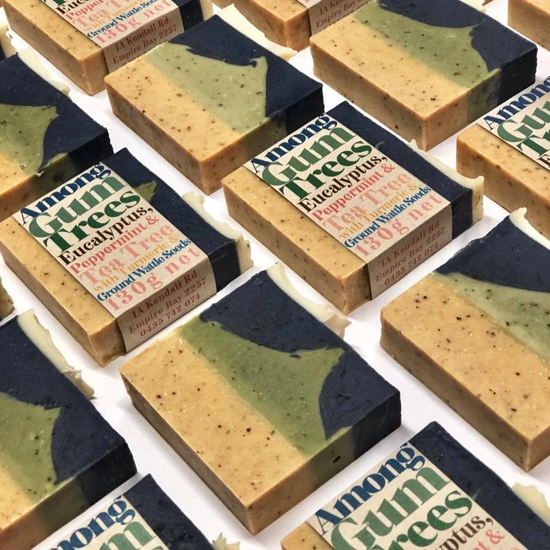 Body Bars // Among Gum Trees // Vegan - Palm Oil Free - Cold Processed Soap