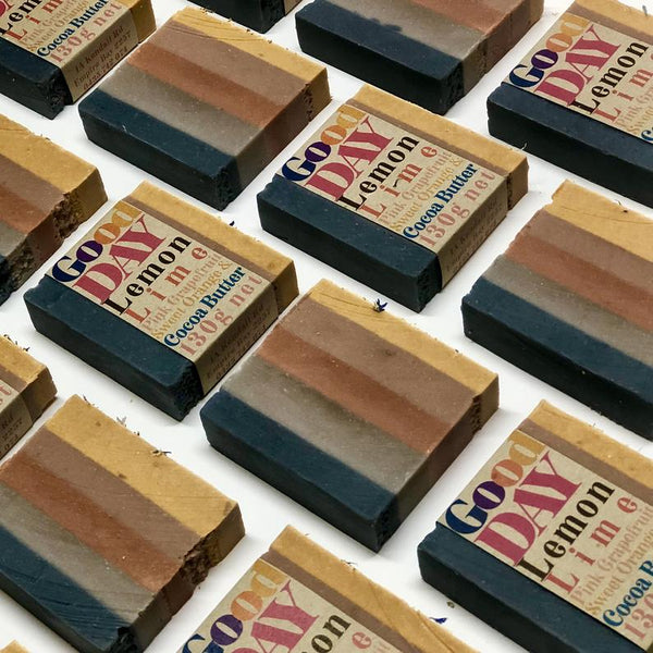 Body Bars // Good Day // Vegan - Palm Oil Free - Cold Processed Soap