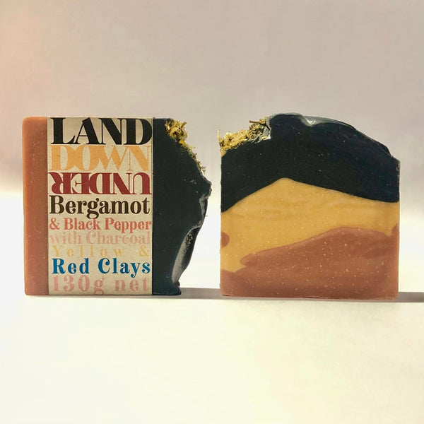 Body Bars // Land Down Under // Vegan - Palm Oil Free - Cold Processed Soap