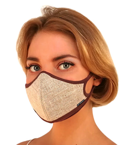 Reusable Face Mask // MetaMask Linen