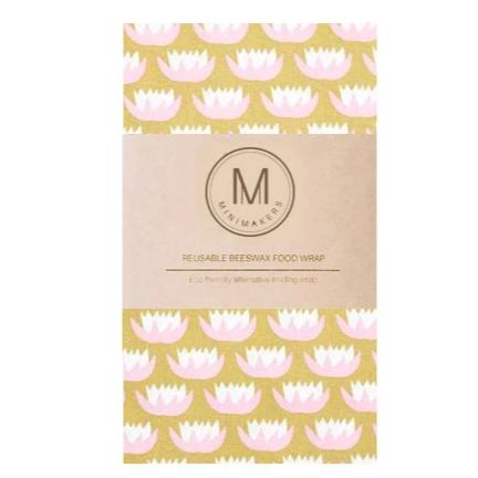 Designer Beeswax Food Wraps (Large)