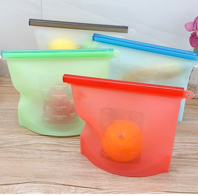 Reusable Silicone Food Bag (Medium)
