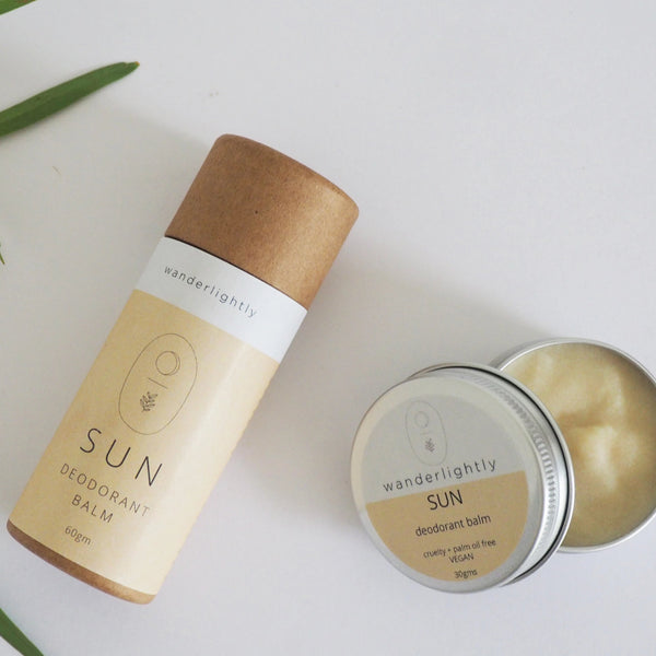 [Imperfects] wanderlightly // Sun Deodorant Balm