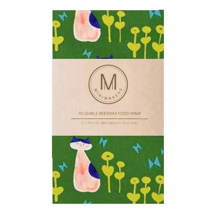 Designer Beeswax Food Wraps (Medium)