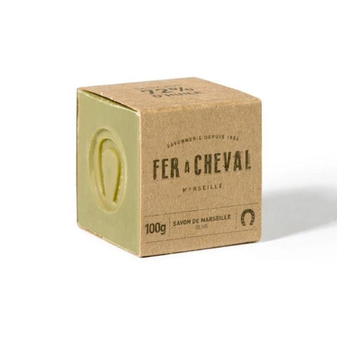 Marseille Soap Cube by Savonnerie Fer a Cheval