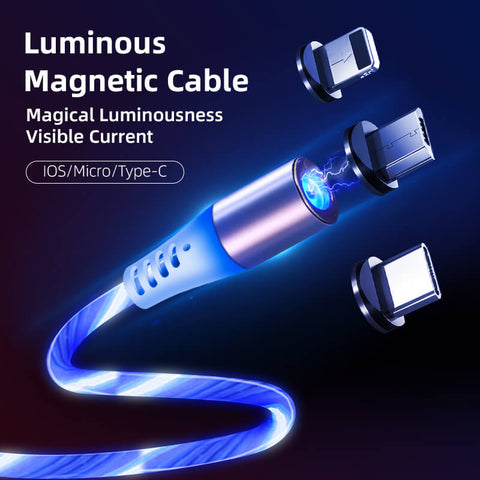 Luminous Magnetic Charging Cable