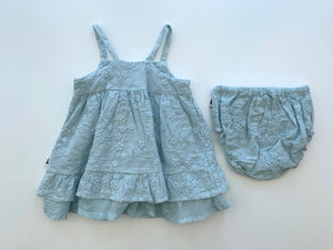 Floral Dress & Bloomer Set