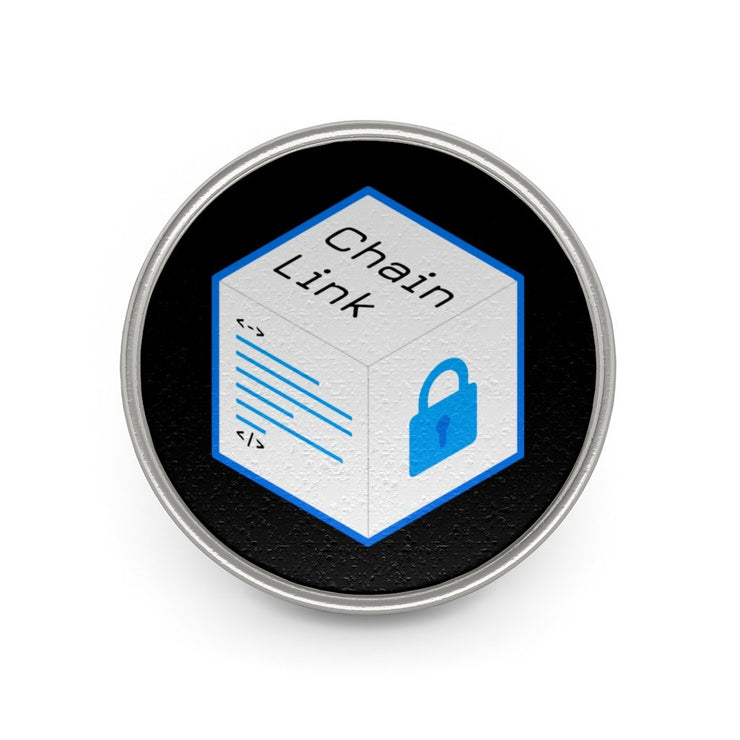Old Chainlink LIMITED EDITION Metal Pin