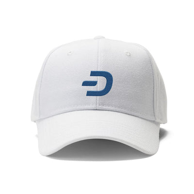 Dash Cryptocurrency Symbol Hat