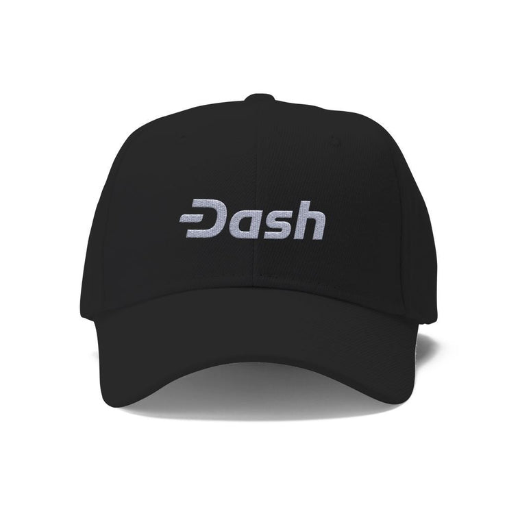 Dash Cryptocurrency Logo Hat