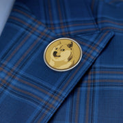 Dogecoin Metal Pin