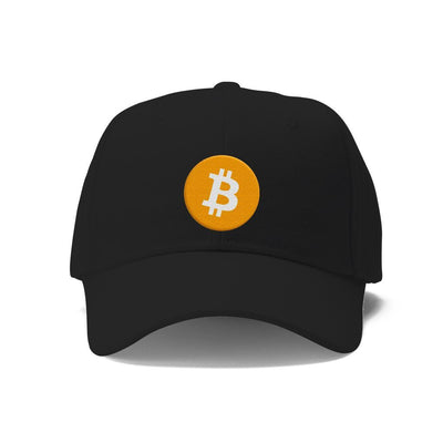 Bitcoin Embroidered Hat