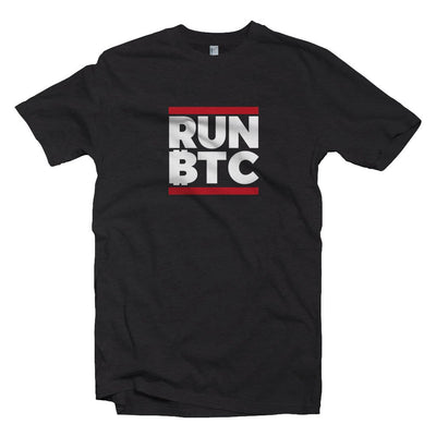 Run Bitcoin BTC t-shirt