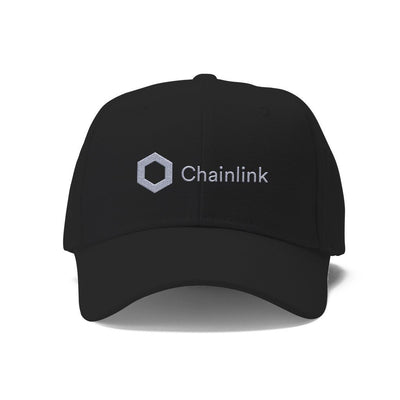 Chainlink LINK Cryptocurrency Logo Hat