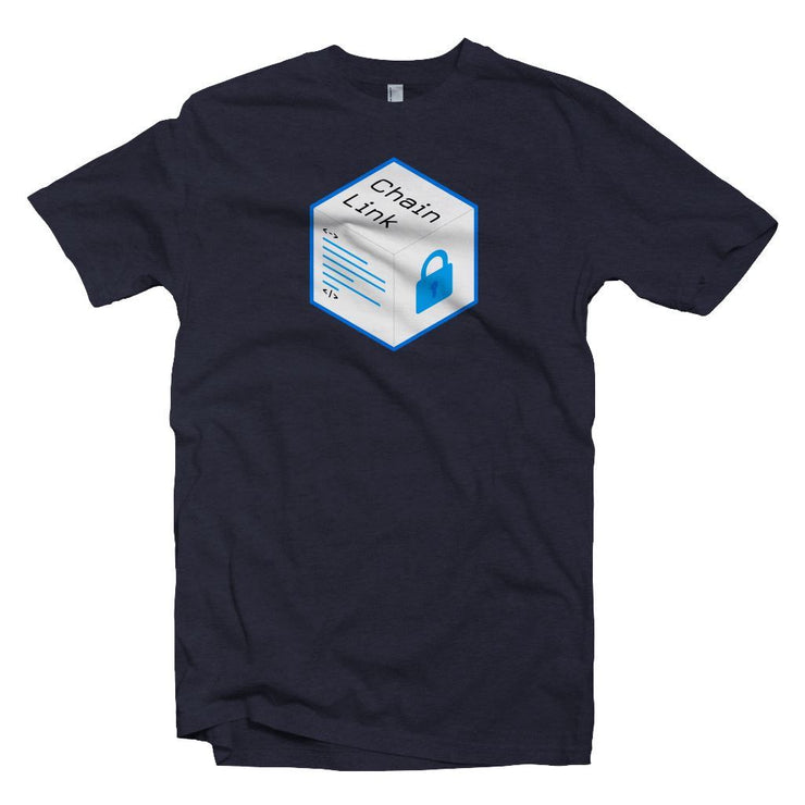 Old Chainlink LINK Cryptocurrency Logo T-shirt