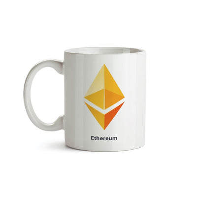 Yellow Ethereum Logo Crypto Mug