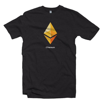 Yellow Ethereum Logo Crypto T-shirt