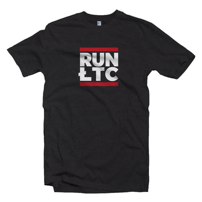 Litecoin Cryptocurrency RUN LTC T-shirt