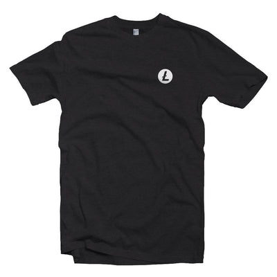 New Litecoin LTC Crypto Logo Polo T-shirt
