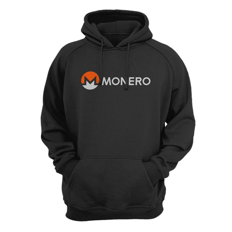 Monero XMR Cryptocurrency Logo Hoodie