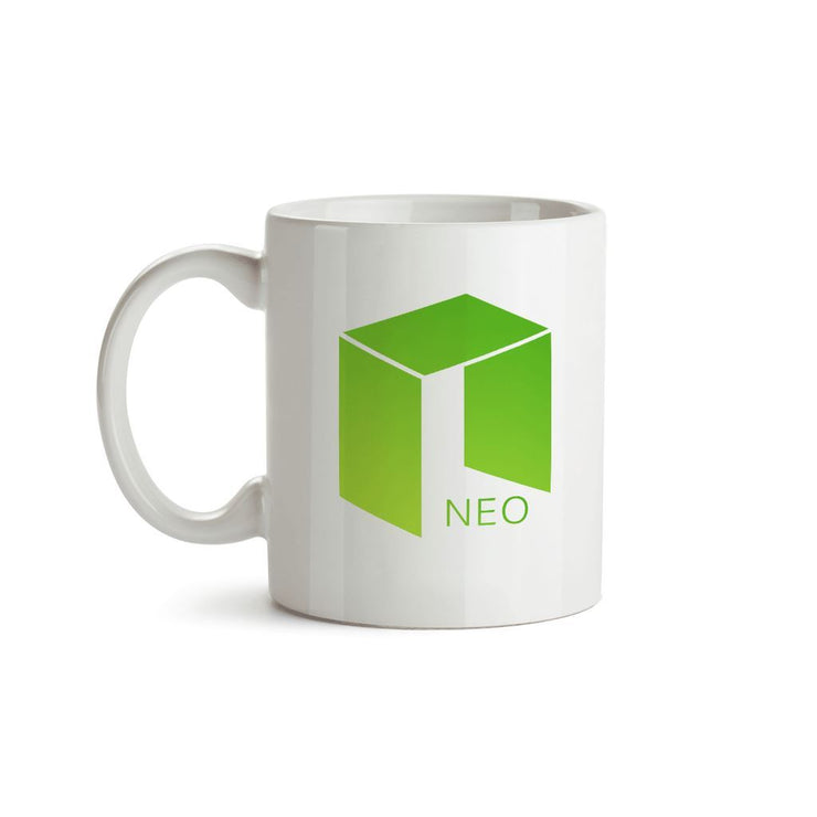 Neo Cryptocurrency Logo Mug
