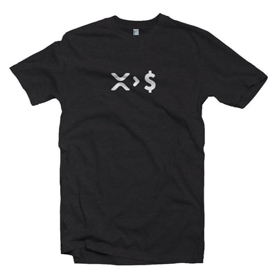 XRP > USD, Ripple over Fiat, Dollar Crypto T-shirt
