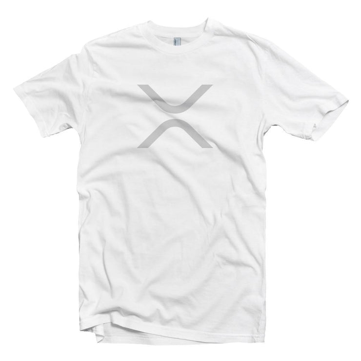 XRP (Ripple) Cryptocurrency Symbol T-shirt