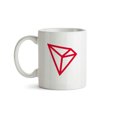 Tron TRX Cryptocurrency Symbol Mug