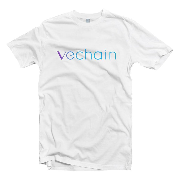 Vechain VET Cryptocurrency Logo T-shirt