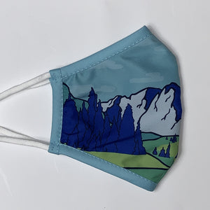 Mountains - Non-Medical Face Mask