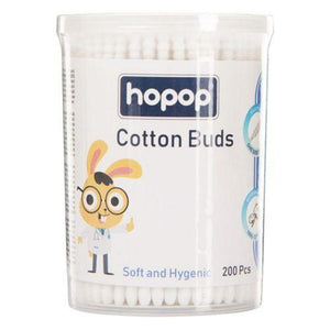 Baby Spiral Thin Paper Stem Cotton Buds , 200Pcs - hopopindia