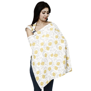 Cotton Multi-Purpose Nursing Cover (Color-01) - hopopindia