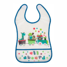 Load image into Gallery viewer, Baby Crumb Catcher Bib Big