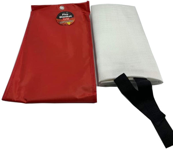 DIVCHI Fire Blanket Emergency Flame Retardent Shelter Safety Cover Designed for Kitchen,Fireplace,Grill,Car,Camping
