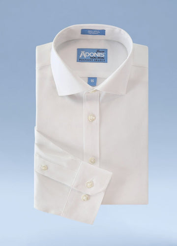 Boys Classic Fit Non Iron 100% Cotton Pinpoint Dress Shirt