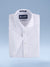 "Boys Cotton Blend Easy Care White-on-White ""Ritzy"" Short Sleeve Slim Fit Dress Shirt"