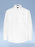 "Mens Cotton Blend Easy Care White-on-White ""New Diamond"" Button Cuff Tall Dress Shirt"
