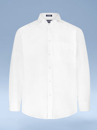 Mens Slim Fit Easy Care Signature Twill Dress Shirt