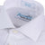 Boys 100% Cotton Non Iron White-on-White 'Fresh' Dress Shirt