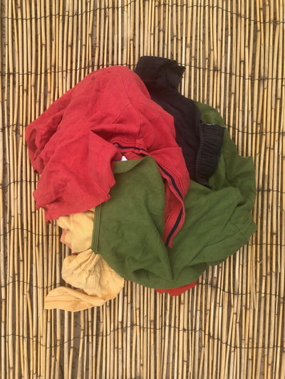 COLOR KNIT T-SHIRT RAGS (25 lb box)
