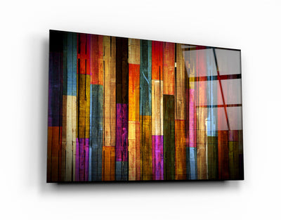 "・""Painted Wood""・Glass Wall Art RCGP Artdesigna"