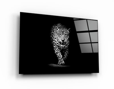"・""Leopard""・Glass Wall Art RCGP Artdesigna"