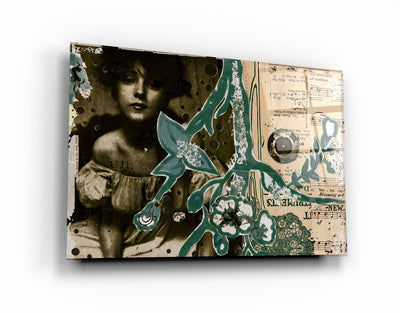 "・""Lost Notes""・Glass Wall Art RCGP Artdesigna"